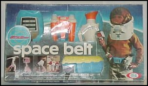 Ideal Space Belt and Helmet